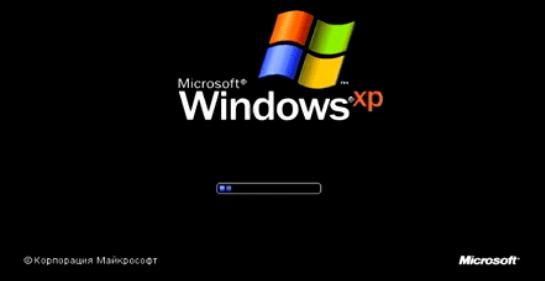 установить виндовс xp на ноутбук