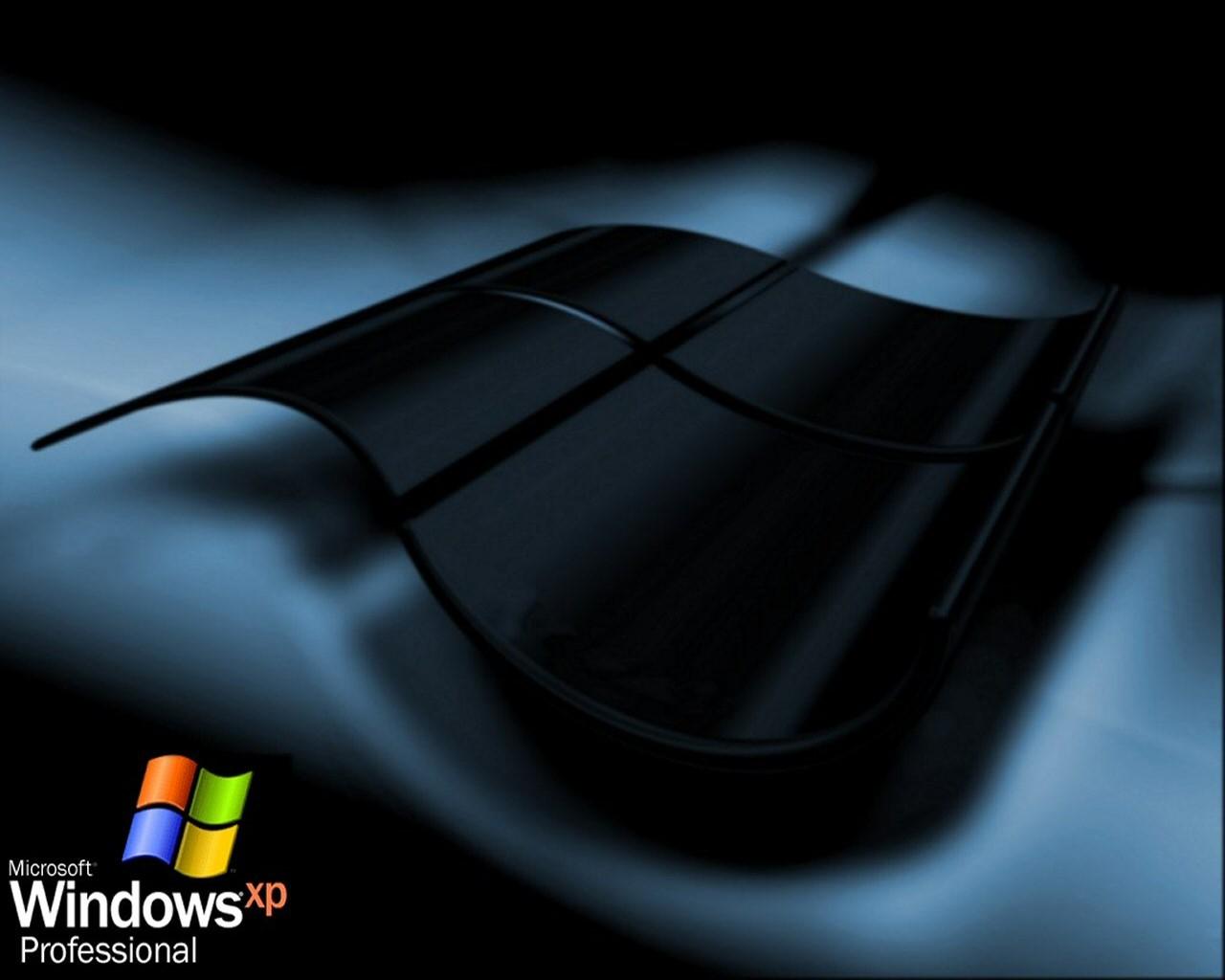 windows xp черный экран