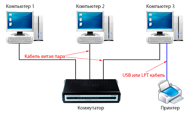 windows xp не видит сеть