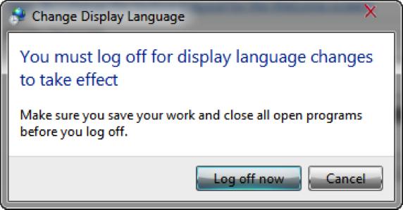 как поменять язык в windows 7