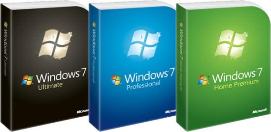лицензирование windows 7