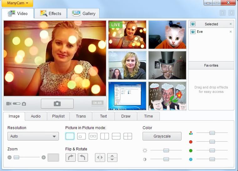 программа веб камера для windows 7 скачать бесплатно